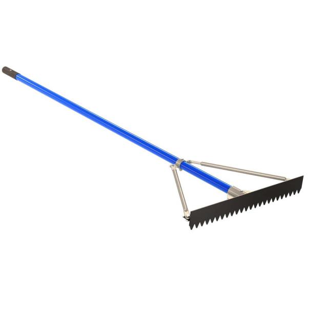 Where to find Concrete Rake, 36  Wide, 6  Handle in Fairbanks