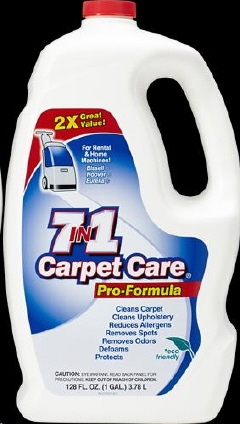 Rental store for 7-in-1 Carpet Care Shampoo 1 Gal. in Fairbanks AK