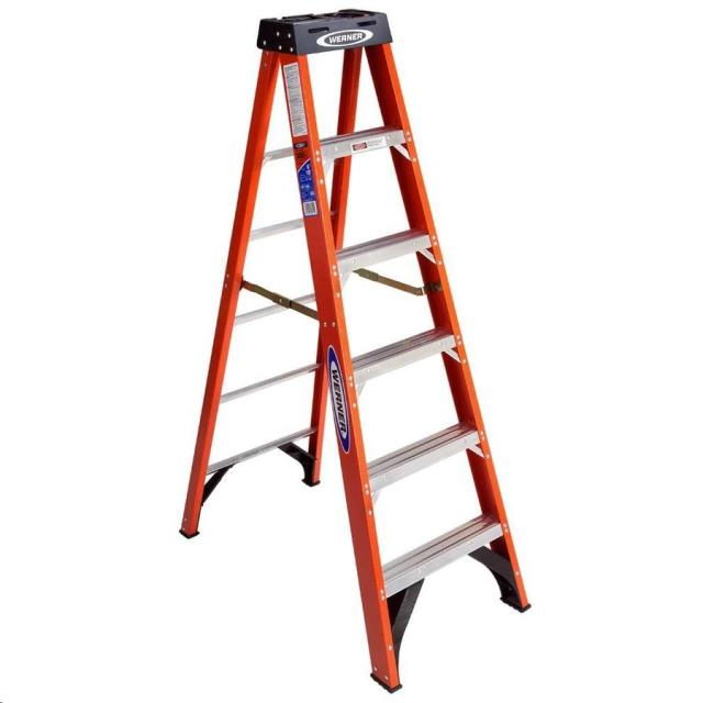 Where to find 6  300 LB FiberGlass Step Ladder in Fairbanks