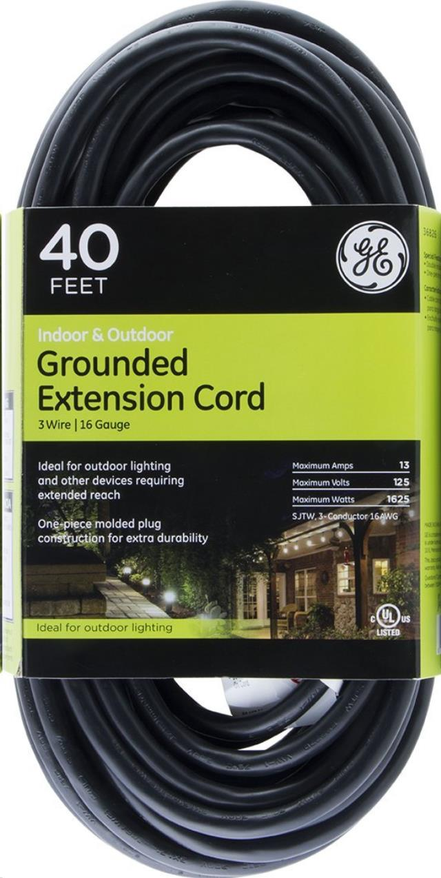 Where to find 40  Extension Cord, 16 gauge in Fairbanks